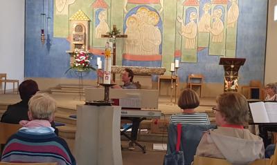Chorprobe in der Kath. Kirche Stadthagen