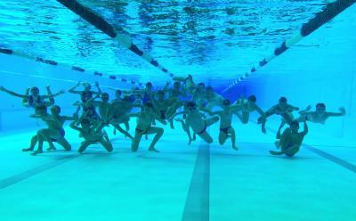 Foto zur Meldung: Wasserball Sommersportwoche auf dem Rabenberg