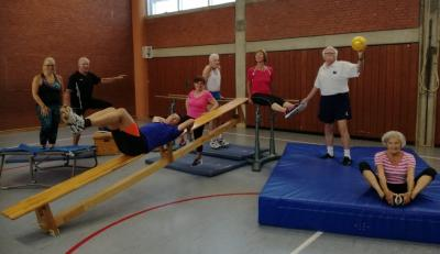 Start der Fitnessgymnastik am 2.9.2021