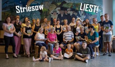"""Die Initiative """"Striesow liest"""" hat schon viele Mitstreiter. Weitere Aktive sind immer herzlich willkommen. Foto: Hutengs"""