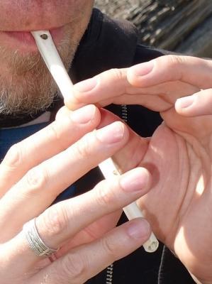 Eine Flöte selber bauen