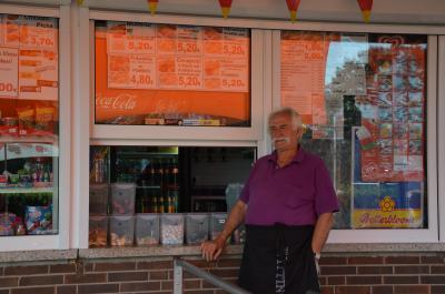 Betrieb des Kioskes im Freibad Am Bolzberg