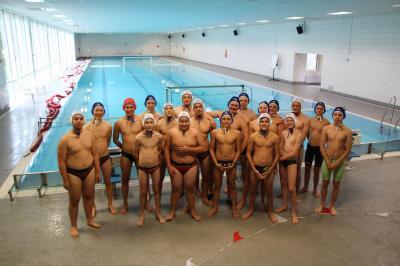 Foto zur Meldung: Wasserball U16 Trainingslager Rabenberg