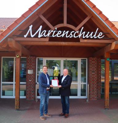 Axel Krämer offiziell neuer Schulleiter der Marienschule