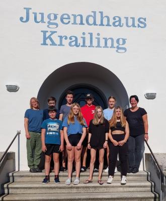 Foto zur Meldung: Ministranten im Krailinger Jugendhaus