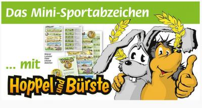Hoppel und Bürste besuchen den TSV Barmke
