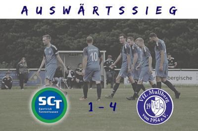 1. Herren: Auswärtssieg in Tannenhausen!