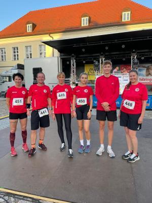 Frauen gewinnen beim Angermünder Teamlauf