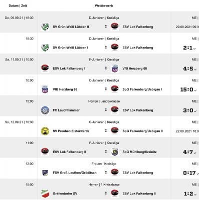 Foto zur Meldung: Fußball: +++ESV mit Niederlage in Lauchhammer+++