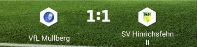 Foto zur Meldung: 1. Herren: Punkteteilung im Derby