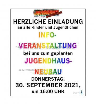 Neubau Jugendhaus: Jetzt geht's los!