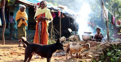 Ein Dorf in Nilgiris