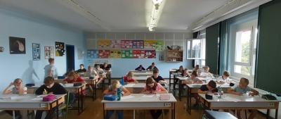 Foto zur Meldung: Schulstufe Mathematikolympiade