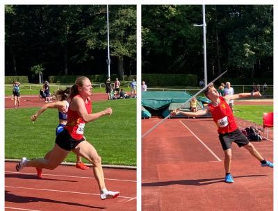 8 Titel und 7 weitere Podestplatzierungen bei den Regionsmeisterschaften in Aachen