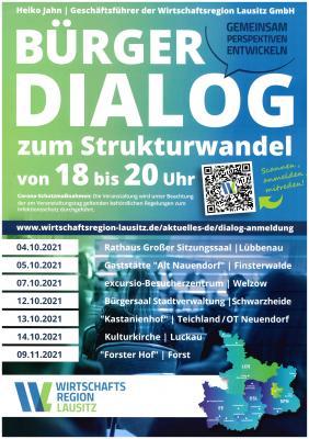Foto zu Meldung: Bürgerdialog zum Strukturwandel
