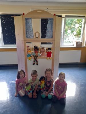 """Foto zur Meldung: """"Hurra, ein neues Puppentheater..."""""""