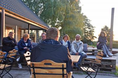 Foto zur Meldung: Mittwochs-Gespräch zum Klimaschutz in Rangsdorf