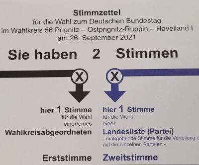 Foto zur Meldung: Bundestagswahl am 26.09.2021