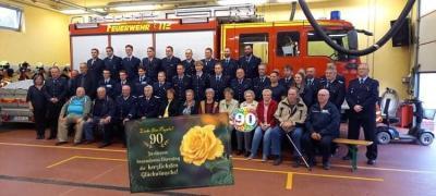 Foto zur Meldung: Ilse Pagels 90.Geburtstag
