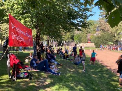 Foto zur Meldung: Erfolgreiche Premiere des 1. Buirer Kindersportfestes