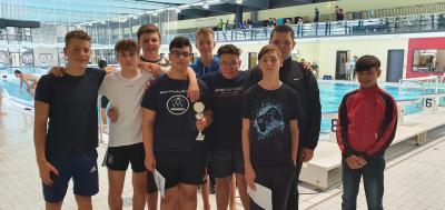 Foto zur Meldung: Wasserball U16 Pincher-Pokal in Plauen