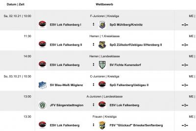 Foto zur Meldung: Fußball: +++Lok-Elf empfängt Fichte Kunersdorf+++