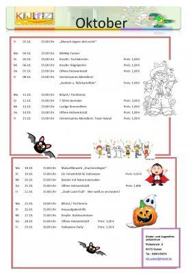 Foto zur Meldung: Veranstaltungen Oktober