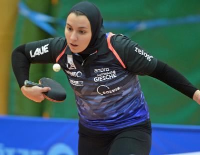 Nach einem Jahr Pause ist die Ägypterin Aida Rahmo zurück im Team des TTK Großburgwedel