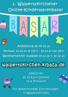 2. Walpertskirchener Online-Kinderwarenbasar