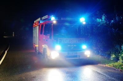 Alarm für Einsatzkräfte am 5. Oktober war ein Brandmanöver in Stocksee