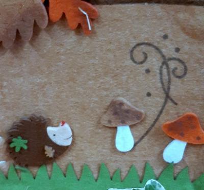 Foto zur Meldung: Herbstprojekt mit Erzähl- und Vorlesewettbewerb