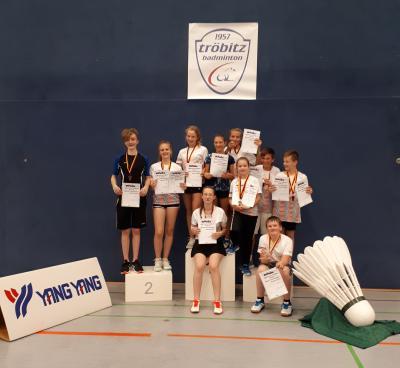 Foto zu Meldung: 22. Internationales Tröbitzer Badmintonturnier