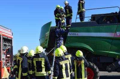 Ausbildungstag der Feuerwehren im Amt Nennhausen