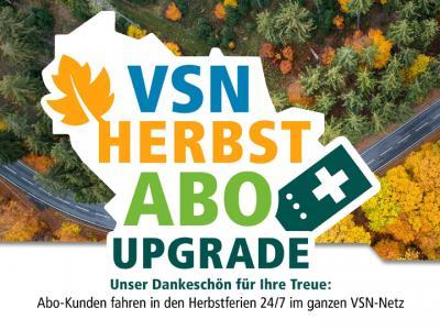 VSN-Herbst-Aktion als Dank an alle Abo-Kunden