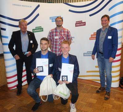 Vorschaubild der Meldung: Sportliche und ehrenamtliche Leistungen in Pandemiezeiten im Landkreis Rostock gewürdigt