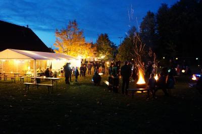 Foto zur Meldung: Das war ein wirklich schönes Schmalenseer Lichterfest