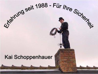 Vorschaubild zur Meldung: Ihr Schornsteinfegermeister Schoppenhauer informiert - Kachelofenreinigungen
