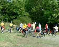 Fahrradwanderer