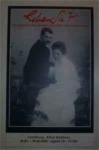 Hermann Jacobsohn- Plakat zur Ausstellung 2002