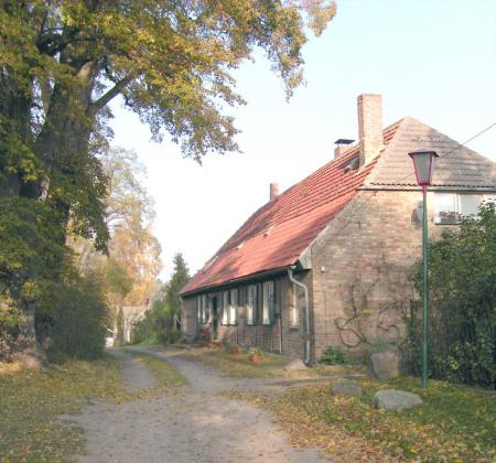 Das frühere Forsthaus in Warsow