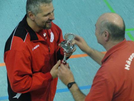 Platz 2. für das Team von Mathias Stadige