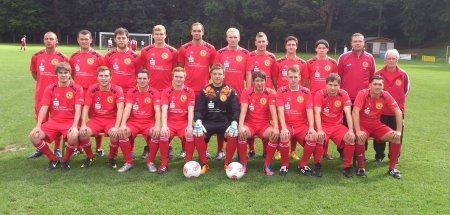1. Mannschaft SV Lok Altenburg 2012-2013