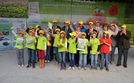Die Sieger: Schulgarten-AG der Grundschule Nord Finsterwalde