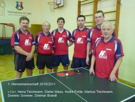 1.Herrenmannschaft 2011