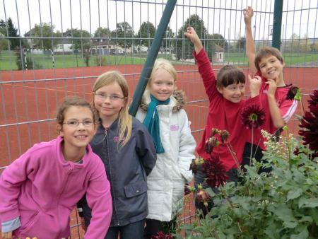 Schulgartengruppe 2011/12