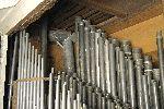 Brustwerk der Orgel vor der Restaurierung