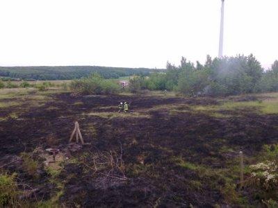 Flächenbrand Bullenberg
