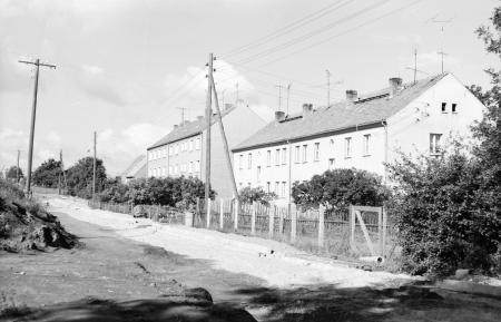 Wohnblocks auf der Ziegelei, Sept. 1979