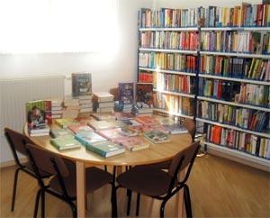 Leseplatz in der Kinderbibliothek