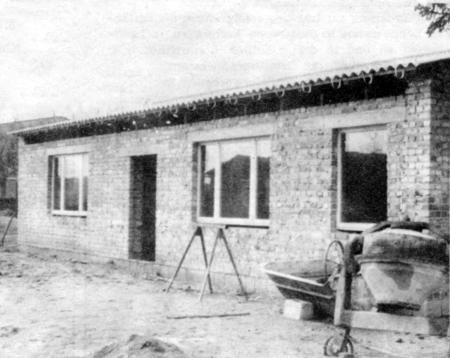 Bau der neuen Zahnstation